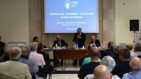 Incontro del mondo sportivo genovese con i candidati a Sindaco della Città di Genova - 2017
